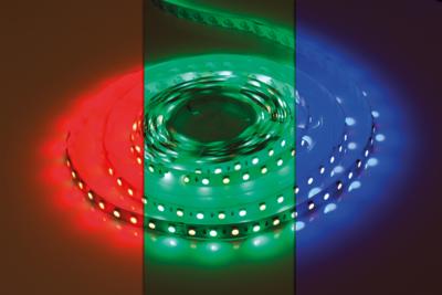 LED STRIP RGB+W 72L/M. 24V/DC 12W/M. RGB + 4000K