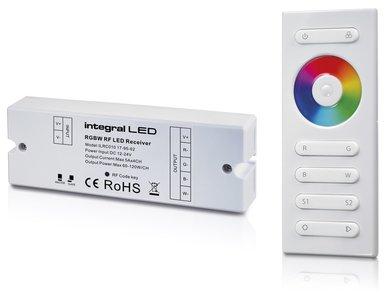 LED STRIP RGBW CONTROLLER + RF REMOTE 12-24V 20A 240-480W
