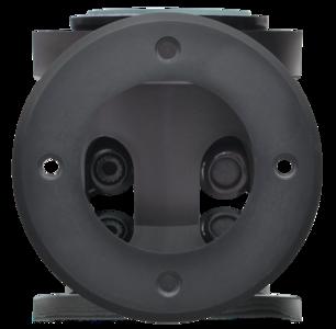 GRONDSPOT ZWART IP67 ROND LAAG 230V MAX. 50W